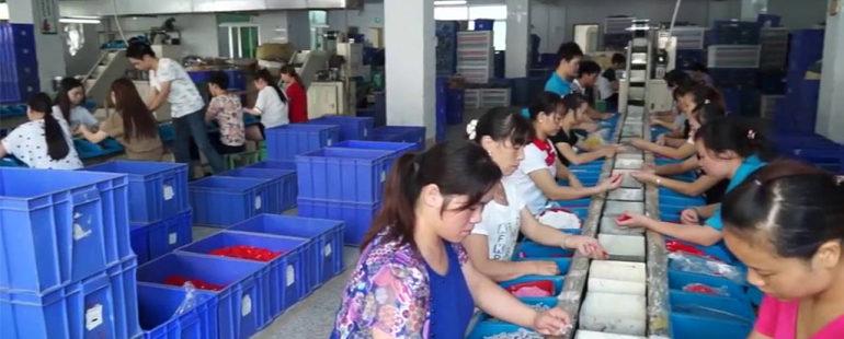 เมืองจีนแหล่งผลิตสินค้าของโลก